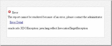 OBIEE Issue]11g BIP Error Code:InvocationTargetException